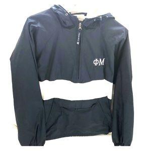 Phi Mu Custom Raincoat